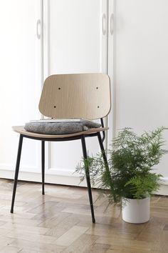 Søborg Chair by Fredericia - via Coco Lapine Design