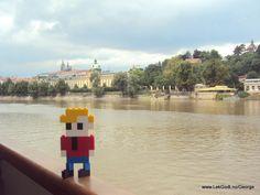 Prague LEGO - Life of George cruising on Moldau...