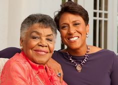 """Robin Roberts' mother, Lucimarian, has written a book, """"My Story, My Song: Mother-Daughter Reflections on Life and Faith,"""" to which Robin contributed thoughts on the role her mother has played in her life. Photo by Robert Seale. Read an excerpt from the book: http://www.guideposts.org/inspirational-stories/shes-got-song-her-heart?utm_source=Pinterest_medium=GP_campaign=MyStoryMySong.19.12"""
