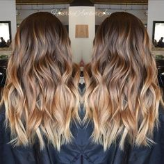 Are you looking for honey hair color hairstyles? See our collection full of honey hair color hairstyles and get inspired! Honey Balayage, Balayage Brunette, Brunette Hair, Dark Balayage, Brunette Color, Hair Color Highlights, Hair Color Dark, Hair Color Balayage, Baylage Ombre