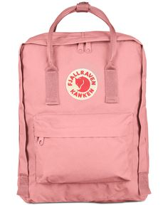 The Kanken backpack from Fjallraven is the classic backpack from Sweden with the familiar red fox logo seen everywhere. Mochila Kanken, Fjallraven Kanken Pink, Pink Kanken, Mochila Jansport, Kanken Outfit, Kånken Rucksack, Backpack Reviews, Cute Backpacks, Shopping