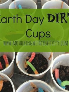 Dirt Cups Dessert Recipe  A great snack for Earth Day with preschool and kindergarten kids   EarthDaySnacks  KidsDesserts Spring Activities for Kids   March   April   May   Spring Time Arts and Crafts   Rainy Day Activity   Spring Crafts   Spring Learning   Spring Play Ideas #crafts #diys #patterns #hacks Rainy Day Activities, Spring Activities, Dessert Cups, Dessert Recipes, Desserts, Dirt Cups, All Natural Skin Care, Macrame Projects, Earth Day
