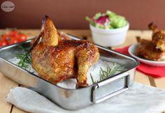 Come realizzare un delizioso e leggero pollo al sale grosso. Senza aggiunta di grassi, è una ricetta sana e gustosa, ideale per un pranzo in famiglia.