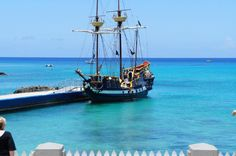 Take a ride aboard the Jolly Roger during Pirate's Week