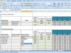 Rental Property Management Template Rental by TimeSavingTemplates, $6.50