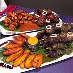 Ghanaian Food, Nigerian Food, Shrimp And Sausage Gumbo, West African Food, Food Crush, Caribbean Recipes, Brunch, Mets, Food Plating