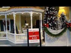Video tour of 2012 Barrett & Company Dollhouse Raffle  Winning ticket being drawn on December 19 2012
