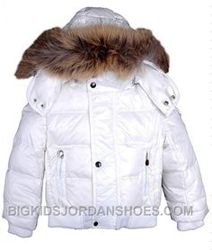 New Moncler Down Coats Kids White, Price   158.44 - Big Kids Jordan Shoes -  Kids Jordan Shoes - Cheap Jordan Kids Shoes 64558932f38
