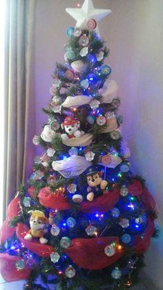 Paw patrol christmas tree Más