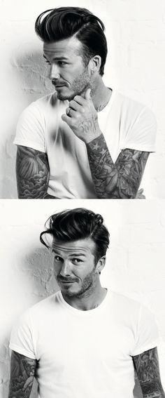 David Beckham - Hope as DB starts to tattoo his hands it becomes more acceptable publicly.