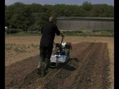 """The Trailed Ridger slots into the back of the rotavator allowing it to be engaged whilst ridging and offering increased traction. The ideal implement for """"earthing up"""" and for crearing ridges and furrows from 10cm to 30cm wide and 10cm to 23cm deep.    The Trailed Ridger can be used with all four of the BCS Two Wheel Tractors and the CAMON Rotavators. Tractors, Deep, Tractor"""