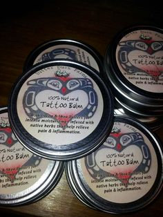 100 Natural Tattoo Balm by ButterDuckFarms on Etsy, $8.00