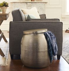 Get organized and check out our tips for stylish and purposeful small-space living. #DiscoverWorldMarket