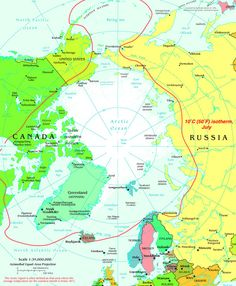 Part of the world - Arctic Circle