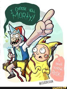 Basically a summary of Pocket Mortys