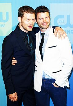 Joseph Morgan & Daniel Gillies @ CW Upfronts