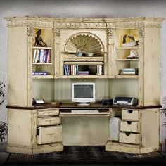 Secretary Desk With Hutch Antique New Furniture Designs