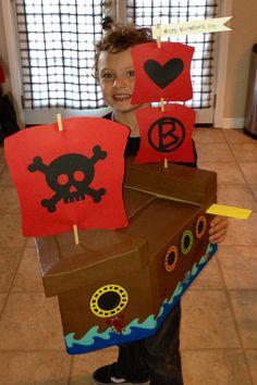 Pirate Valentine Box ❤