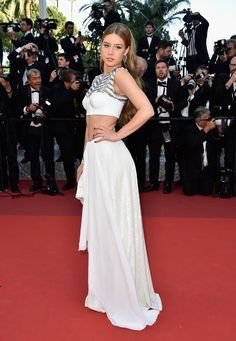 Adele Exarchopoulos wore a custom #LouisVuitton Fall 2016 crop top and skirt to #TheLastFace premiere. #Cannes2016 The Fashion Court (@TheFashionCourt)   Twitter