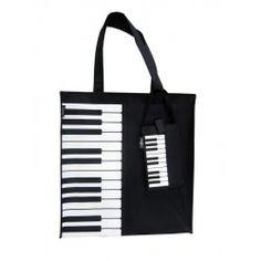 Vinyl Music Bag Piano Keyboard Design