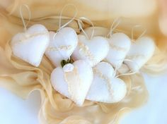 Heart Favors Wedding  Sachet Vintage Inspired by LollysCubbyHole, $110.00