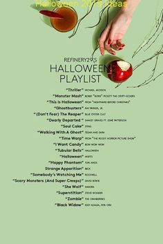 Shanon Cook of Spotify rounds up the best songs for your playlist this Halloween. Shanon Cook of Spotify rounds up the best songs for your playlist this Halloween. Halloween Tags, Happy Halloween, Halloween Costumes For 3, Casa Halloween, Diy Halloween Decorations, Halloween 2018, Halloween Music, Trendy Halloween, Halloween Tricks