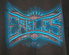 Vintage Eagles Hell Freezes Over Concert Tee Shirt sz XL Black 1994 Tour #GiantbyAnvil #GraphicTee