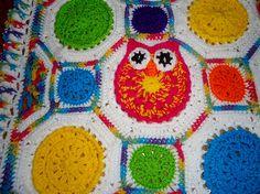 Ravelry: Tammy Drouillard-Jozwiak's Version of Owl Obsession Blankie ~ Pattern by Marken of The Hat & I