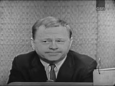 What's My Line? - Mickey Rooney; Martin Gabel [panel] (Dec 31, 1961) - YouTube