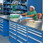 New York Presbyterian Hospital Uses Lista Storage Wall® Systems.  Presbyterian Hospital, Wall