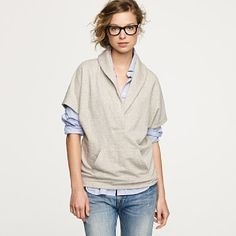 Yes! Another weird slouchy thing like mine in the same color! Thank you J crew for affirming my taste