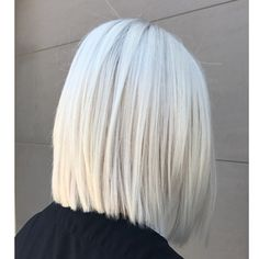 New Short White Hair Ideas 2019 – Libby Ellis - Weißes Haar Medium Bob Hairstyles, Straight Hairstyles, Bob Haircuts, Brunette Hairstyles, Blonde Hairstyles, Everyday Hairstyles, Celebrity Hairstyles, Hairstyles Haircuts, Trendy Hairstyles