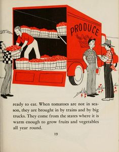 7684b5d12944e3 36 Best Vintage Produce Departments images