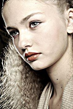 "thegrittyblog: "" Kristina Romanova """