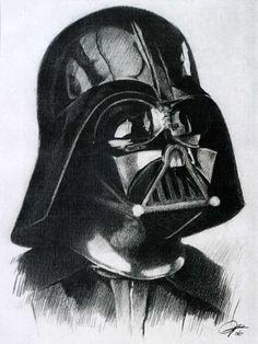 Darth Vader drawing by YumyumHolmesdeviantartcom on