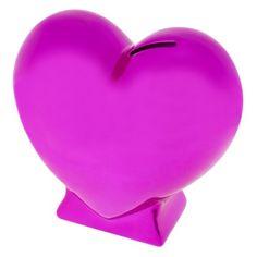 "Circo® Heart Shape Bank - Pink - 7.0 "" H x 3.0 "" W - $12.99"