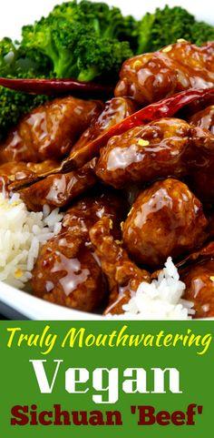 vegan sichuan beef recipe