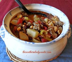 This Sausage Bean Soup recipe is perfect for cool fall days and makes a hearty winter soup as well. I love most any kind of soup and this one will definitely hit the spot. Just add some cornbread o…