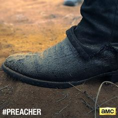 These boots were made for preachin'. ⛪️ #Preacher #AMC