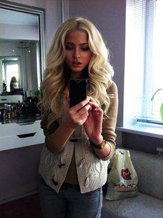 soft curls = fabulous