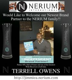 Terrell Owens is one of our newest Brand Partners! #cowboys http://jimmiea.nerium.com