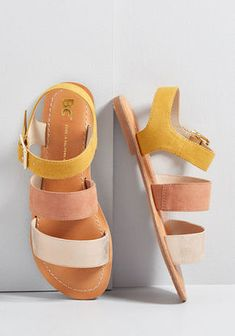 Daytime Divine Vegan Sandal in 10 Daytime Divine Vegan Sandal in 10 by BC Footwear from ModCloth Pretty Shoes, Cute Shoes, Me Too Shoes, Vegan Sandals, Vegan Shoes, Zapatos Shoes, Shoe Wardrobe, Studded Heels, Outfit Trends