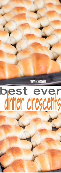 Best Ever Dinner Crescents