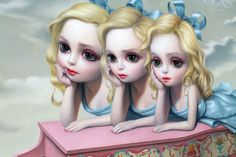 "Last Friday, Kohn Gallery celebrated the opening of its new space in Hollywood with Mark Ryden's highly anticipated exhibition, ""The Gay 90s: West"". The gallery walls were painted pale pink f…"