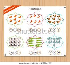 Find Counting Object Kids Education Worksheet stock images in HD and millions of other royalty-free stock photos, illustrations and vectors in the Shutterstock collection. Kids Education, Counting, Worksheets, Royalty Free Stock Photos, Objects, Kids Rugs, Early Education, Kid Friendly Rugs, Literacy Centers