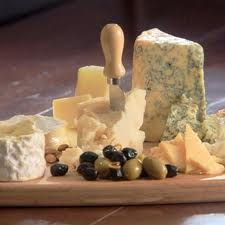 cheese platter  - this goes fast!
