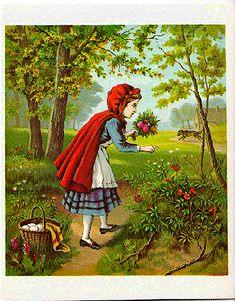 Little Red Riding Hood, illus. Dee (McLoughlin Bros., 1890?)