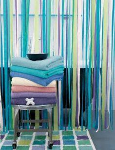 ribbon curtains