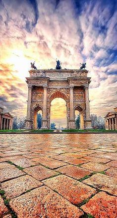 Porta Sempione, Milano