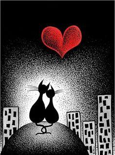 Cat love <3                                                                                                                                                                                 Más